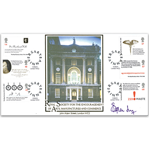 2004 RSA - Signed by Stephen Fry