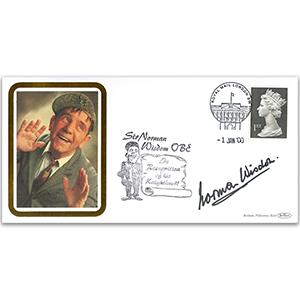 2000 Sir Norman Wisdom OBE signed