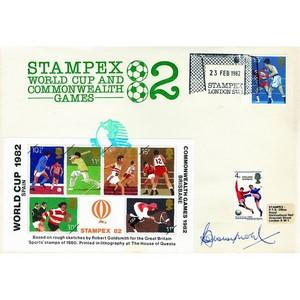 1982 Commonwealth Games - Signed Bobby Moore