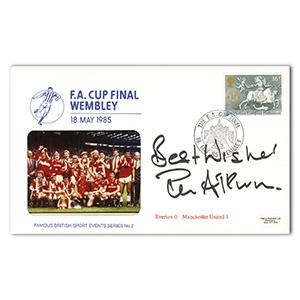 1985 FA Cup - Signed by Ron Atkinson