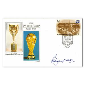 1986 World Cup - Signed by Bobby Moore