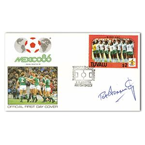 1986 World Cup - Signed by Pat Jennings