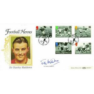 1996 Football Heroes - Signed by Sir Stanley Matthews