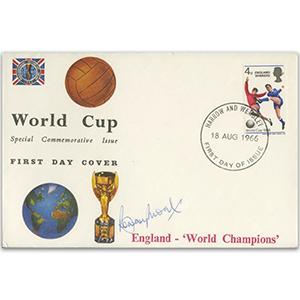 1966 World Cup - Signed by Bobby Moore