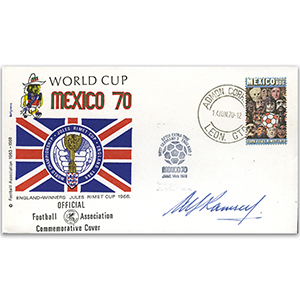 1970 Mexico World Cup - Signed by Alf Ramsey