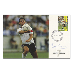 1990 Nevis - Signed by Bryan Robson