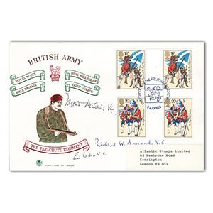 1983 Army - Signed by 3 Victoria Cross Holders