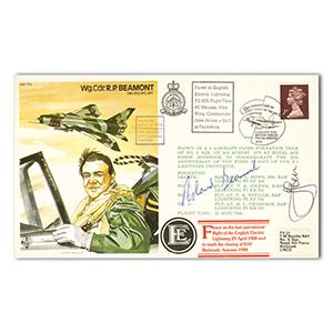 1979 Wg. Cdr. Roland Beaumont - Signed by Beaumont and Test Pilot