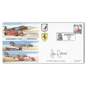 1998 Italian Airforce 75th - Signed by Lt. Gen G. B. Ferrari