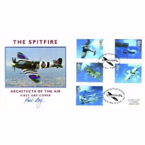 1997 Architects of the Air, Spitfire. Signed Paul Day.