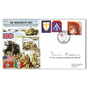 1993 British Forces - Signed by Rt. Hon. Lord Healey
