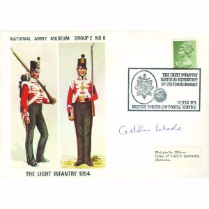 1971 National Army Museum - Signed Maj. Gen. Ashton Wade CB OBE