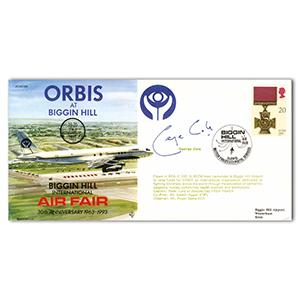 1993 30th Anniversary Biggin Hill Air Fair - Signed by George Cole