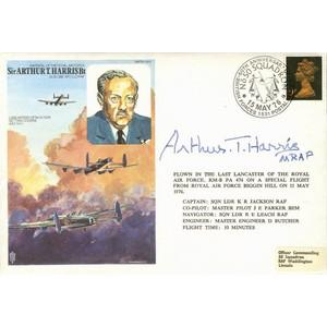 1976 60th British Forces Signed Arthur T Harris