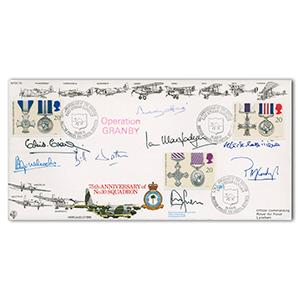 1991 Operation Granby - Signed by De La Billiere, Hine, Wratt and 5 Others