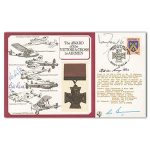 1984 VC to Airmen - Signed Smythe, Learoyd, Reid & Fraser