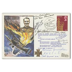 1978 Armistice 60th. Signed Vermehren, Aitken, Elkington 4 others.