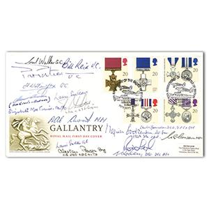 1990 Gallantry - Signed by 15