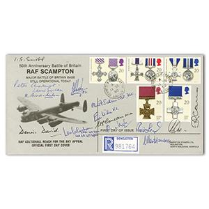 1990 Gallantry - RAF Scampton - Signed by 15