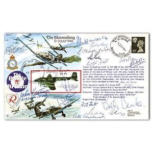 1990 Battle of Skirmishing - Signed by 16 Battle of Britain Pilots, Crew and WAAF