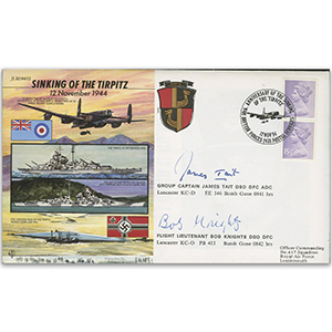 1994 Tirpitz 50th. Sign Tait & Knights