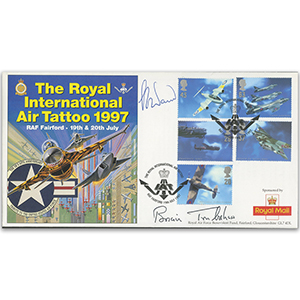 1997 Air Tattoo - Signed by Brian Trubshaw & Capt. Ward