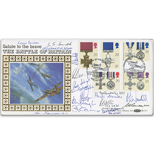 1990 Gallantry - Signed by 17 Inc. 12 BoB Veterans