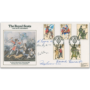 1983 British Army - Signed by 5 VC Holders