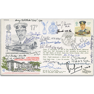 1987 BoB 47th Anniversary - Signed by 20 Battle of Britains Veterans