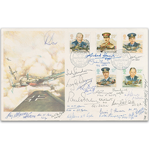 1986 RAF - Signed by 22 BoB Veterans