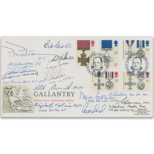 1990 Gallantry - Signed by 16