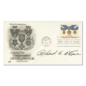 1983 USA Medal of Honor - Signed Richard H O'Kane