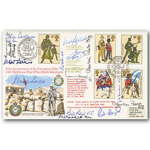 1983 BFPS - Signed by 6 VC, 3 MC & Enoch Powell