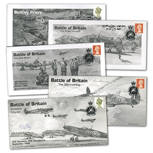 2000 Battle of Britain set 5 signed covers