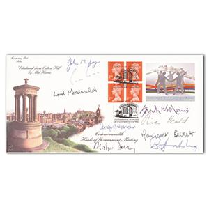 1997 Commonwealth Heads of Government Meeting - Signed by Margaret Beckett and 8 Others