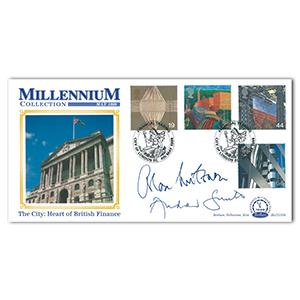 1999 Millennium Collection. Signed Alan Milburn and Andrew Smith