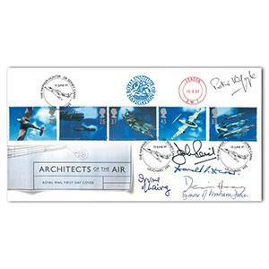 1997 Architects of the Air - Signed by Dennis Healey and 5 Others