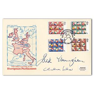 1979 Euro Parliament Elections - Signed by Jack Cunningham and 1 Other
