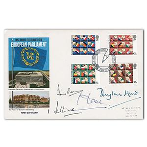 1979 Euro Parliament Elections. Signed Sir Alec Douglas Home and 3 others.