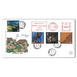 1999 Farmers' Tale - MAFF Postmark - Fisheries Turriff CDS - Signed by J. Macgregor