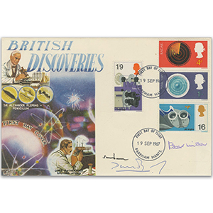 1967 British Discoveries - Signed by Lords Snowdon, Winston and Sainsbury