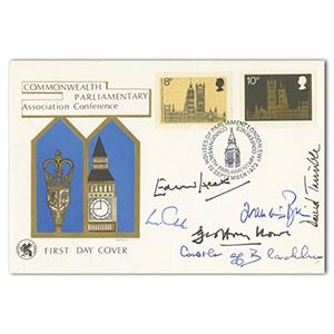 1973 Commonwealth Parliament Conference - Signed by Barbara Castle, Edward Heath and 4 Others