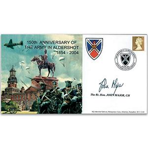 2004 Army in Aldershot 150th. Signed Major.