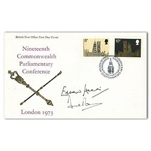 1973 Parliamentary Conference - Signed by Edward Heath and David Owen