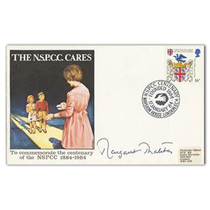 1984 NSPCC - Signed by Margaret Thatcher