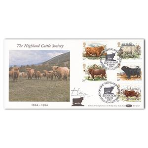 1984 Cattle - Signed by Lord Home