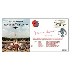 1996 British Legion - Signed by Tony Benn
