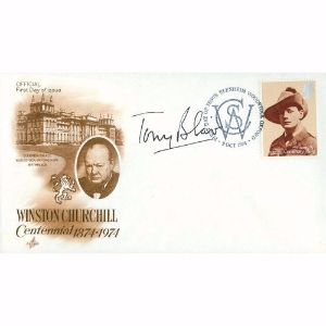 1974 Churchill Centennial - Signed by Tony Blair