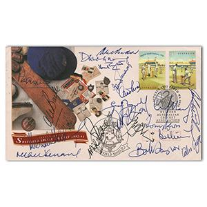 2003 Falklands Christmas Cover - Signed by Margaret Thatcher