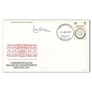 1977 Commonwealth - Signed by Leon Brittan